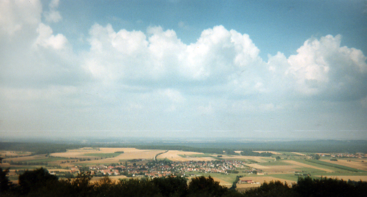 view from Hesselberg